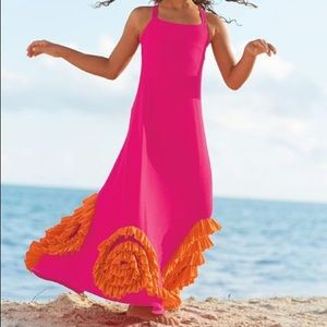 Chasing Fireflies fuchsia maxi dress